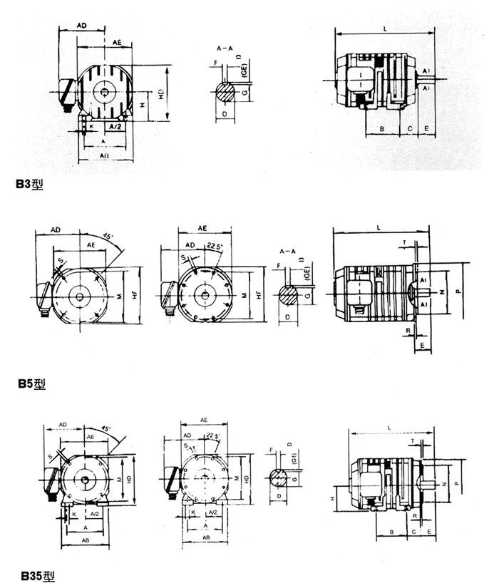 yzr电机转子接线原理图